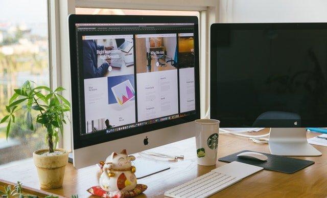 Tworzenie designu strony WWW na komputerze